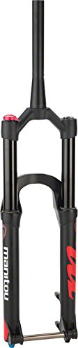 "Manitou Mattoc Comp Fork 27.5"" 160mm Travel, Tapered Steerer, 15mm Axle (110x15mm), Matte Black"