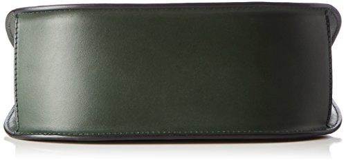 Unbekannt Cordoba 6, Borsa a tracolla Donna Verde (Dark Green)