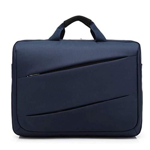Del black Blue Gran Paquete Handbag Portátil Los Bolso Diagonal Hombres De Ordenador Capacidad gqWCw1B