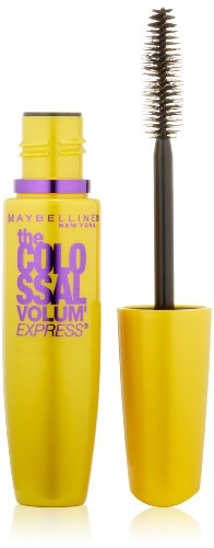 Maybelline New York The Colossal Volum' Express Washable Mascara, Glam Brown 232, 0.31 Fluid Ounce
