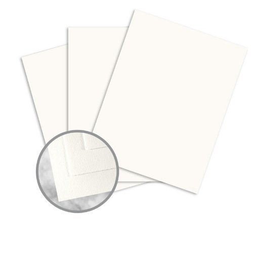 (Strathmore Writing Soft White Paper - 8 1/2 x 11 in 24 lb Writing Wove 25% Cotton Watermarked 500 per Ream)
