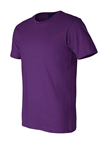 Bella+Canvas Unisex Jersey Short Sleeve Tee, Team Purple, Large
