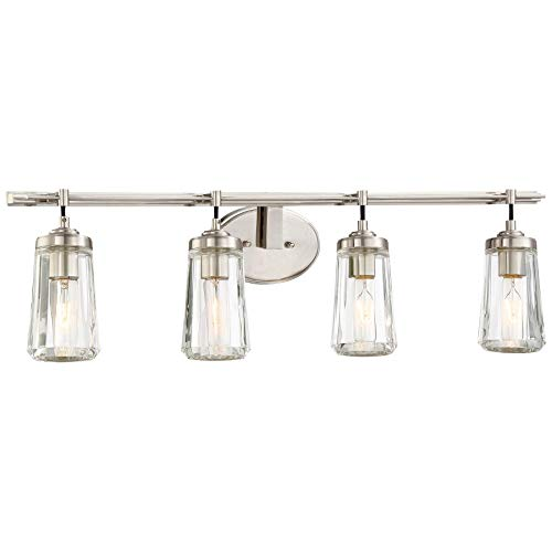 Minka Lavery 2304-84 Poleis 4-Light Bath Vanity in Brushed