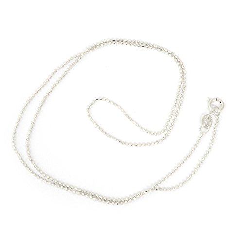 1mm Diamond Cut Bead Chain - 8