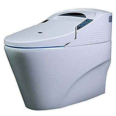 Instant hot toilet toilet toilet tank home integrated toilet automatic flushing remote control cleaning fart heating home flip smart toilet toilet automatic deodorant drying large impulse toilet integ