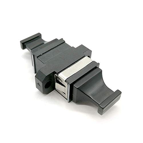 MTP/MPO Fiber Optic Adapter, Karono Standard Footprint Reduced Flange MTP/MPO Optical Coupler Connector for 40G to 100G QSFP+, Data Center Patching System, Link Docking for usconec(Key Up to Key Down)