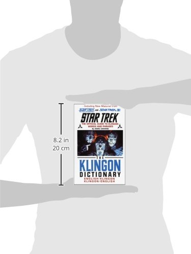 The Klingon Dictionary (Star Trek) by Pocket Books Star Trek