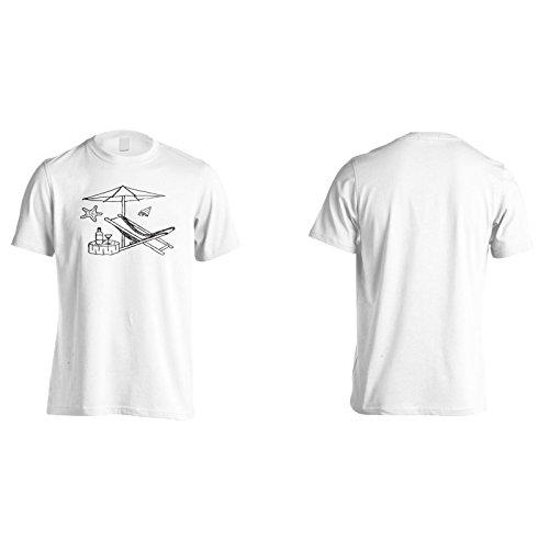 Neue Sommer Trinken Strand Herren T-Shirt m379m