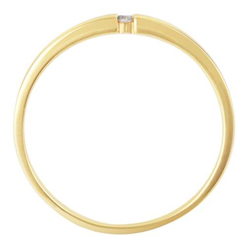 Goldmaid - So R4696GG - Bague Femme - Or jaune 333/1000 (8 carats) 1.5 gr - Diamant