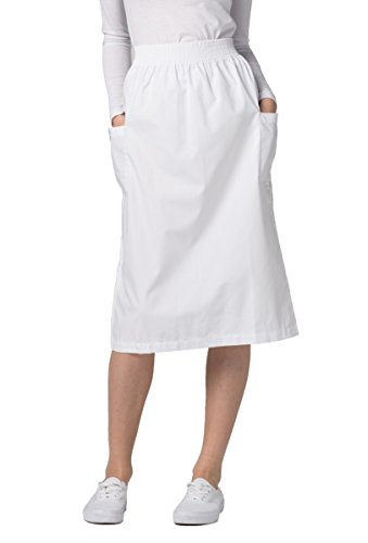 Adar Universal A-Line Patch Cargo Pocket Skirt -