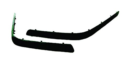 Right Equal Quality M0929 BEADING and MOULDING Back Bumper with Primer