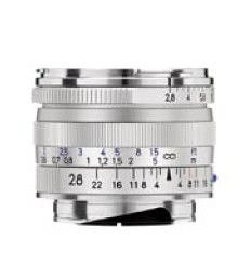 Price comparison product image Zeiss 28mm f / 2.8 T* ZM Biogon Lens,  for Zeiss Ikon & Leica M Mount Rangefinder Cameras,  Silver