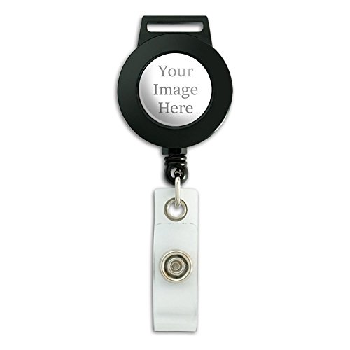 Graphics and More Self-EEZ(TM) Custom Personalized Retractable Badge Card ID Holder ()
