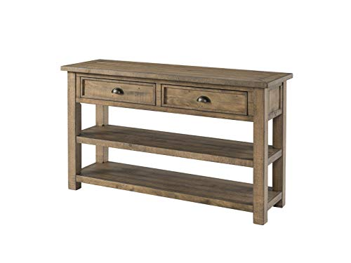 Martin Svensson Home 890644 Monterey Solid Wood Sofa Console Table Reclaimed Natural ()