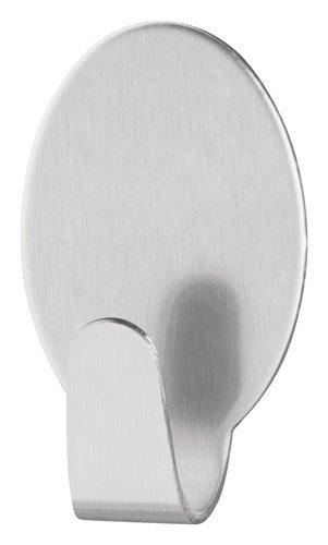 Large grau 666110000000 tesa H6661100 66611-00000-00 Permanent Haken Oval Metall