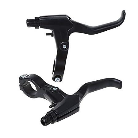 KINTRADE 2 st/ücke Fahrrad Bremshebel Aluminiumlegierung MTB Rennrad Fixed Gear Radfahren Kurbel