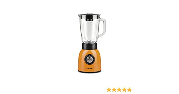 Girmi FR90 Batidora de vaso 1.5L 600W Negro, Naranja, Transparente ...