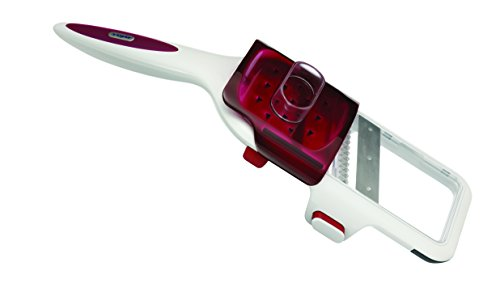 Zyliss Hand Held Slicer with Adjustable Blades and Julienne Slicer