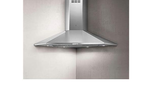Elica ACUTA IX/F/100 - Campana extractora (100 cm, acero inoxidable): Amazon.es: Grandes electrodomésticos