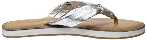 16777239 Donna Inuovo 9086 silver Argento Infradito pnAqH0