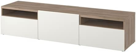 Ikea 10202.20823.2622 - Mueble para TV, efecto nogal, color gris ...