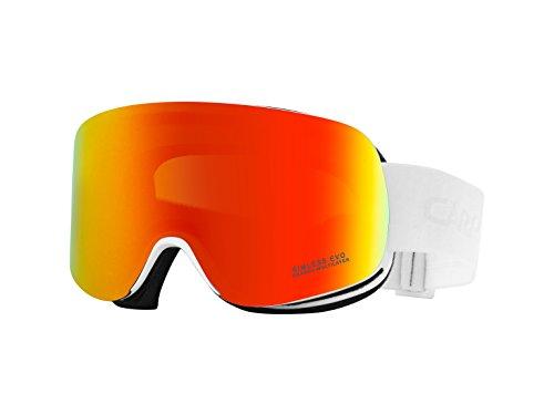 Carrera Masque de ski Rimless Evo/US, White Matte, m004117dv990g