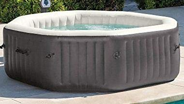 Intex NEW 6-Person Octagonal PureSpa with 140 Bubble Jets