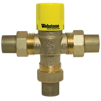 7510 Series - Webstone 3/4 Thermostatic Mixing Valve 7510W Series