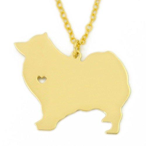 (Samoyed Necklace, Samoyed Charm, Samoyed Jewelry, Dog Necklace, Memorial Gift Dog Jewelry Dog Charm)