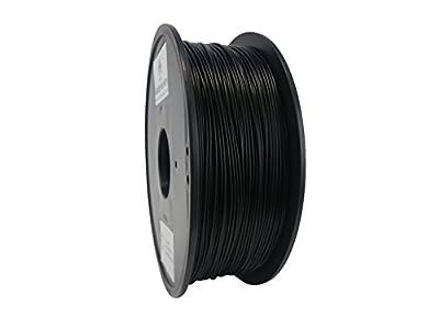MatterHackers Black PLA Filament - 1.75mm