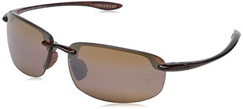 - Maui Jim Ho'okipa Reader (Universal Fit) H807N-1025 | Polarized Tortoise Rimless Frame Sunglasses, HCL Bronze, with with Patented PolarizedPlus2 Lens Technology 2.5