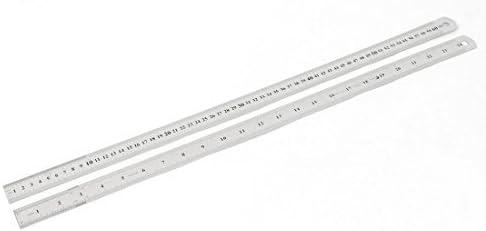 60cm 24 pulgadas de Acero inoxidable recta regla de medición ...