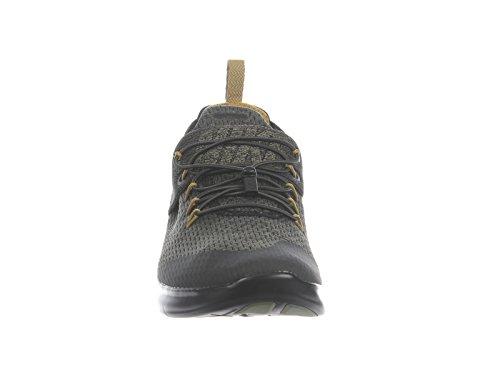 Nike Mens Free Rn Commuter 2017 Scarpe Da Corsa In Nylon Premium Nero / Desert Muschio / Oliva Medio