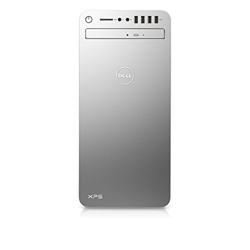 Dell XPSE8910-7942SLV Desktop (6th Gen Intel Core i7, 16GB RAM, 2 TB HDD) NVIDIA Gaming GPU GTX 1070, Silver by Dell