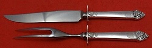 King Cedric By Oneida Sterling Silver Steak Carving Set 2-Piece