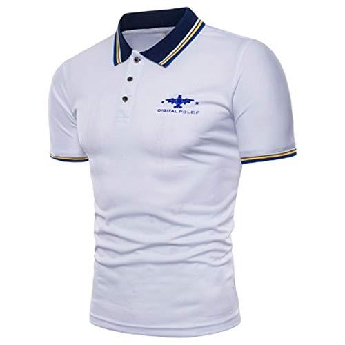 - Men's High Performance Polo Shirt(White-XXX-Large)