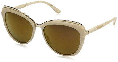 Dolce-Gabbana-Womens-Acetate-Woman-Square-Sunglasses-Beige-Horn-590-mm