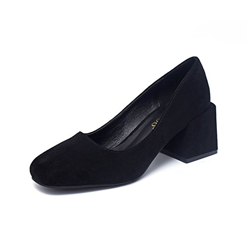 Damesschoen Loafer Schoenen Comfort Casual Werk Slip-on Rijden Brogue Mocassins Schoenen Zwart