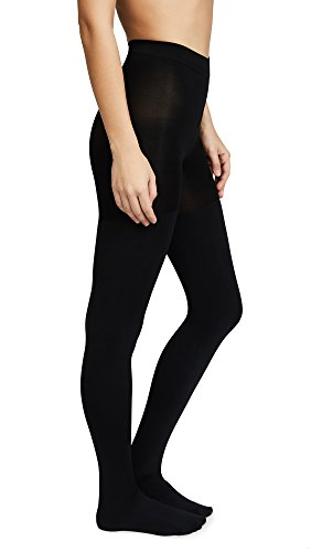 SPANX Women's Luxe Leg Blackout Tights, Very Black, - Luxe Black