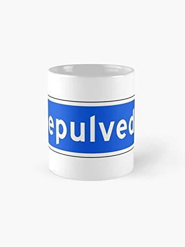 Sepulveda Blvd Street Sign Los Angeles Usa Mug - 11oz Mug - Best gift for family -