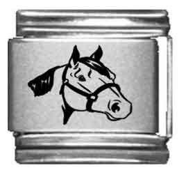 Horse Animal Italian Charms - 6