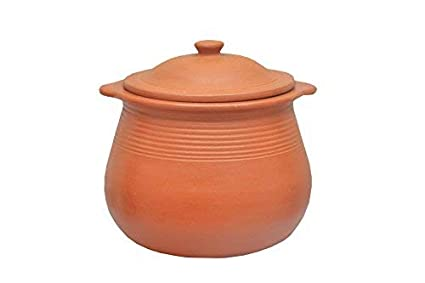 Mitti Magic Cooking Pot, 3 5 L, Brown - [ ]