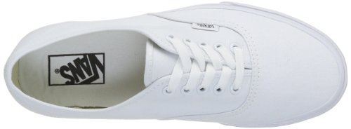 Authentic Zapatillas Blanco White Vans Unisex Adulto 6pwdnvq