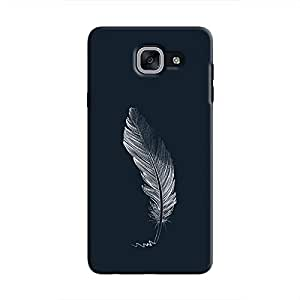 Cover It Up - Feather Grey Galaxy J7 Prime Hard Case