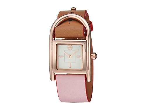 Tory Burch Women's Thayer Watch, 25mm, Pink/Brown, One Size