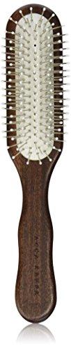 Acca Kappa Pneumatic Brush (Acca Kappa Professional Pro Pneumatic Hair Brush, Rectangle, Chrome Pins)