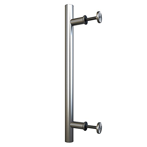 Stainless Steel Side Mount Large Pull Handle for Sliding Barn Door Hardware - Surface Mount Pull