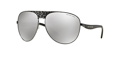 MICHAEL KORS Sunglasses MK 1006 10586G Gunmetal Black Leopard/Black - Kors Sunglasses Leopard Michael