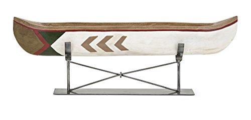84555 Adirondack Large Canoe Metal