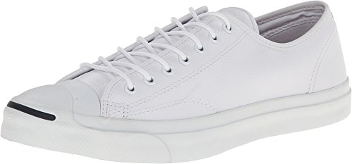 Converse Men's Jack Purcell Tumbled Leather White 147575C